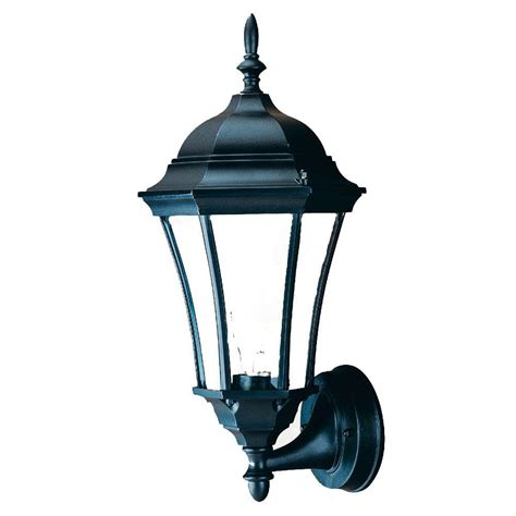 Outdoor Lighting Wall Mount Acclaim Lighting Brynmawr Collection 1 Light Matte Black Outdoor Wall Mount Light Fixture 5020bk