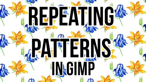 repeat pattern font how to make a repeating pattern in gimp and upload it to