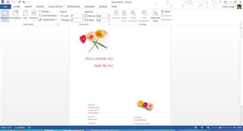 Mothers Day Cards Templates Microsoft Word by S Day Templates For Microsoft Office