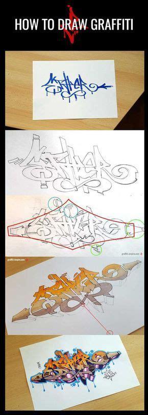 draw graffiti  beginners   steps graffiti