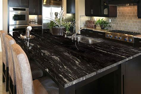Black Granite Countertops 17 Best Ideas About Black Granite Countertops On