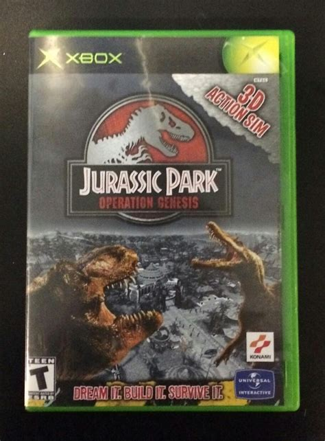 jurassic park operation genesis xbox for sale xbox w michigan play n trade page 2