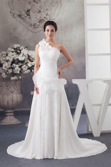 hochzeitskleid israelische designerin abito da sposa senza maniche vita bassa plisse chiffon