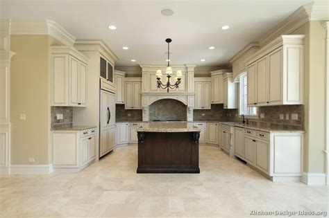 pictures of kitchens traditional two tone kitchen pictures of kitchens traditional off white antique