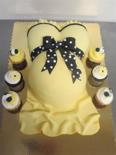 Baby Shower Belly Cakes by 70 Baby Shower Cakes And Cupcakes Ideas