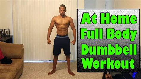 is it ok to workout before bed fat burning full body workout with dumbbells youtube