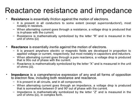 definition of capacitor reactance engineering science lesson 9