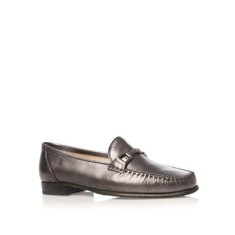 carvela loafers carvela kurt geiger mariner loafer shoes in gray for