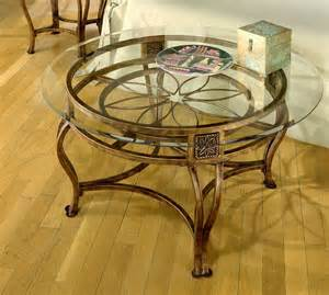 Back to post glass round coffee table as modern style