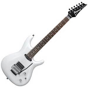 guitar to ibanez joe satriani js140 signature electric guitar white