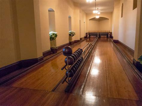 bowling alley with pool bubba s garage visiting biltmore estate at christmas