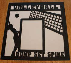 scrapbook layout ideas for volleyball volleyball on pinterest volleyball senior night gifts