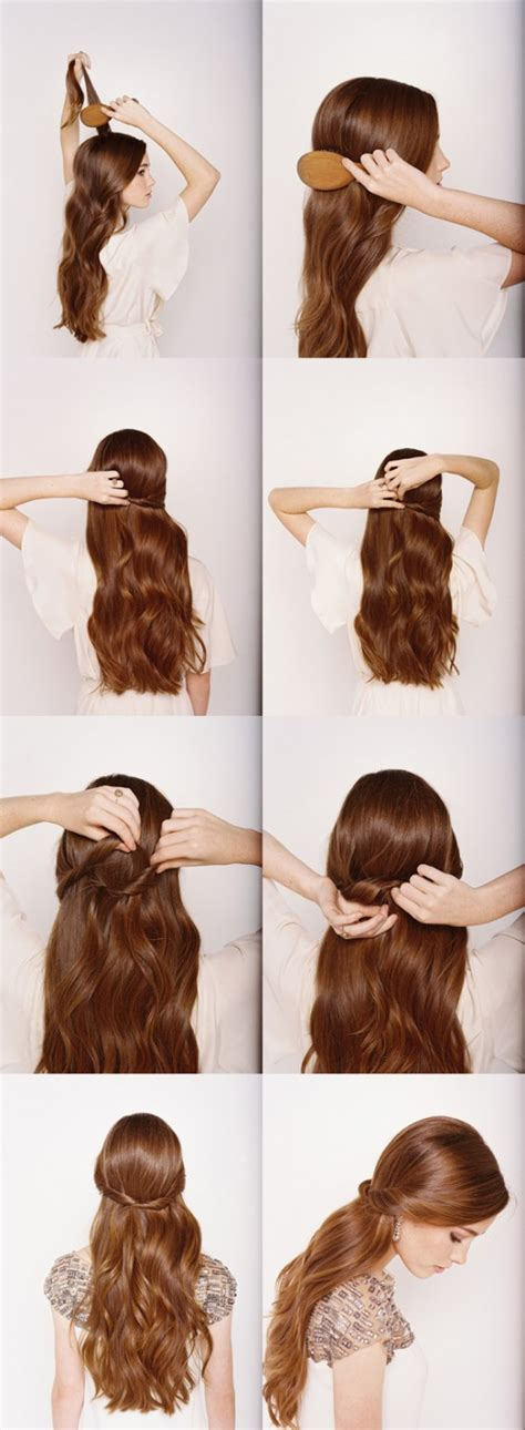 Hairstyles For Hair Step By Step by Half Up Half Hairstyles Step By Step Tutorial
