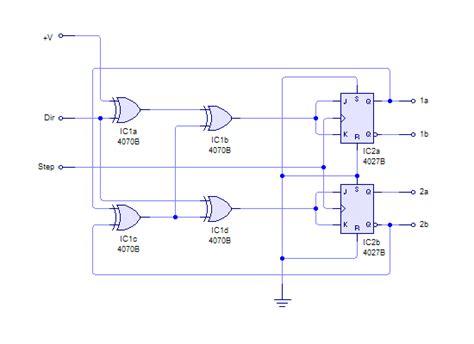 transistor stepper motor driver circuit h bridge stepper motor circuit stepper motor datasheet