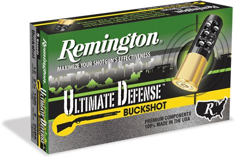 ultimate defense shotshell loads remington