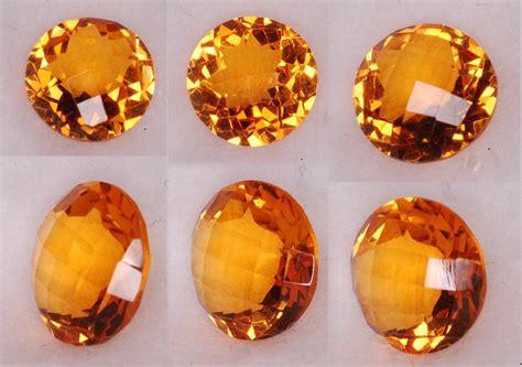Citrine Quartz 101 Cts 1 8 mm gold orange citrine checkboard 4178 14 72