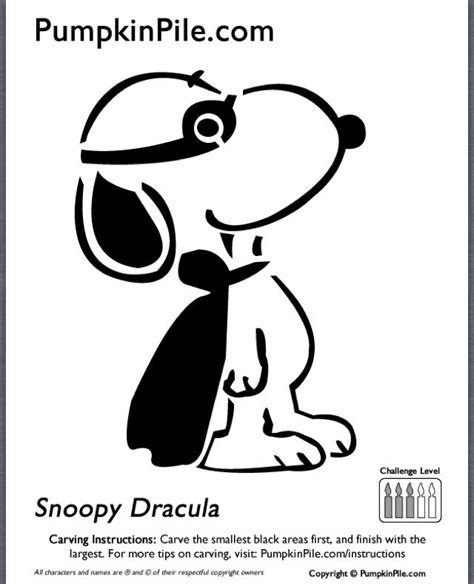 snoopy pumpkin stencil halloween goodness pinterest