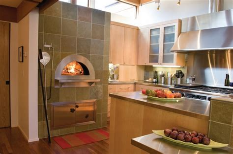 pizza kitchen design pizza oven in the kitchen 25 ideas for true pizza lovers