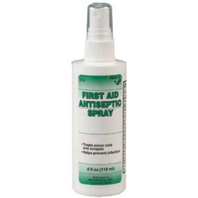 Antiseptic Spray antiseptic spray non aerosol 2oz