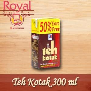Teh Kotak Per Dus pesan snack box jakarta pusat royal snack box