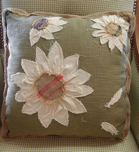 Sale Bantal Tiup Cing C Pillow reclaimed feed seed coffee sack pillow floral 17 inch sale 39 more info call 828