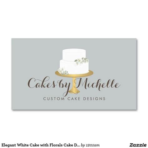 cake decorating business cards templates 8 best business cards for cake decorating and bakery