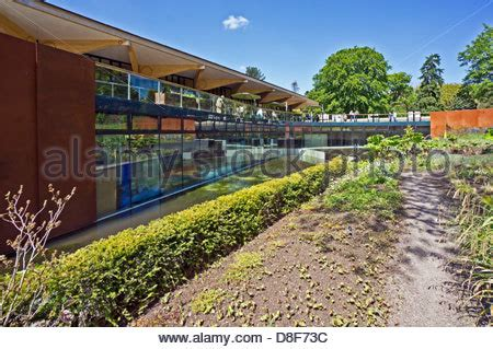 Edinburgh Botanic Gardens Restaurant The Gateway And Restaurant In The Royal Botanic Garden Stock Photo Royalty Free Image