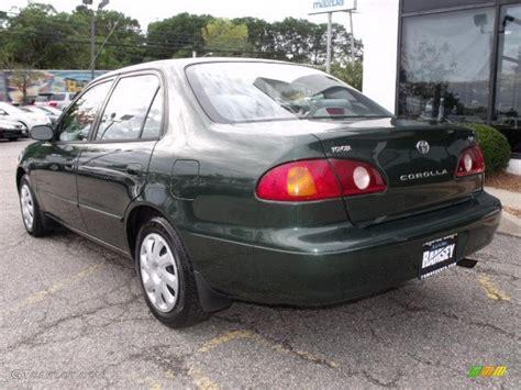 2001 Toyota Corolla Green 2001 Woodland Green Pearl Toyota Corolla Le 37493238