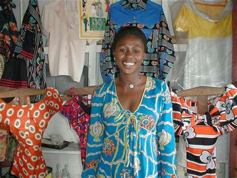 republic traditional dress congolese in