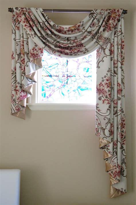 Pole Swag Valance 17 best ideas about scarf valance on curtain ideas drapery ideas and window scarf