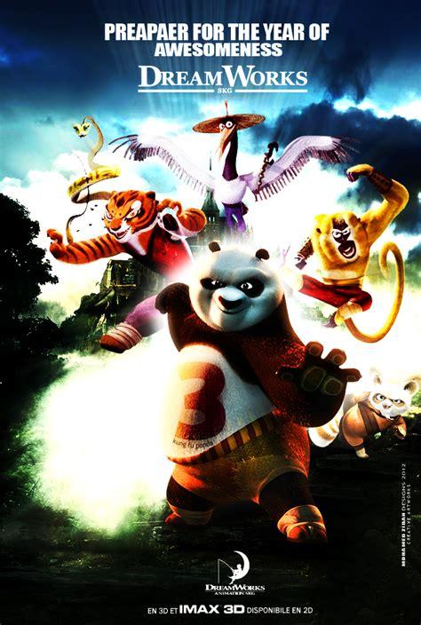 Kaos 3d Kungfu Panda White dreamworks pre v i e w