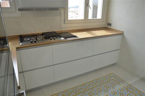 encimeras de madera maciza foto encimera de cocina de madera maciza de ecohabitats