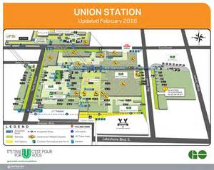 Map Of Union Station Chicago by About Union Station