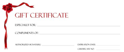 template ms word gift certificate template blank voucher ms word