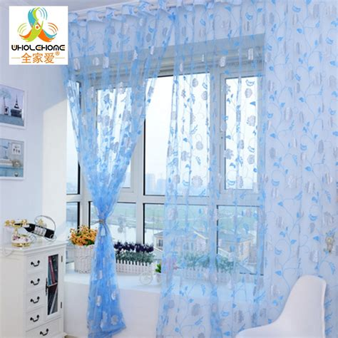 printed voile curtains printed pattern voile curtains for living room bedroom