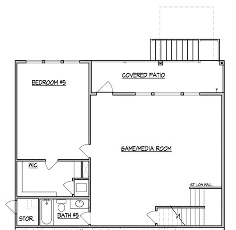 walk out basement floor plans walk out basements san antonio mcmillin homes