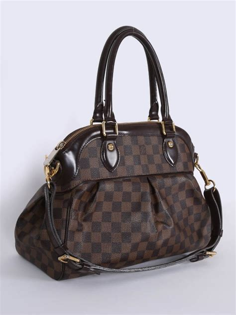 Ultra Exclusive Bags From Louis Vuitton by Louis Vuitton Trevi Pm Damier Ebene Canvas Luxury Bags