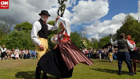 Midsummer Womenmen 7 strange wonderful summer traditions cnn