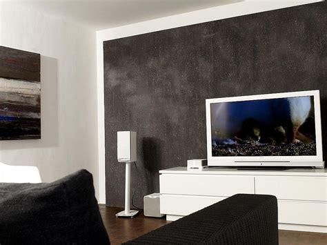 raumgestaltung wohnzimmer beispiele wandgestaltung dekoration deko ideen