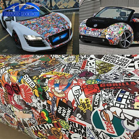 Stickerbomb Folie Motorrad by Cartoon Graffiti Stickerbomb Sheets Sticker Bomb Vinyl Car