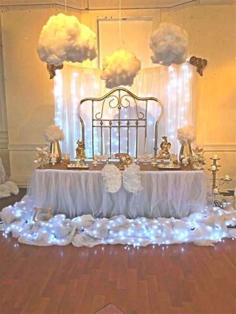 Angel theme babyshower   Gods gift baby shower in 2019