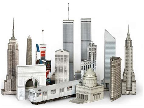 City Papercraft - build your own new york