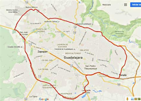imagenes satelitales guadalajara jalisco mapa zona metropolitana guadalajara jalisco mexico