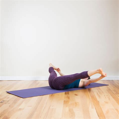 reclining poses yoga poses you can do in bed popsugar fitness