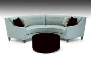 rounded sofa definitely will have a curved sofa bigger than this one