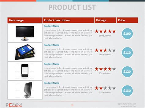 Product Catalog Powerpoint Template By Adriandragne Graphicriver Powerpoint Catalog Template