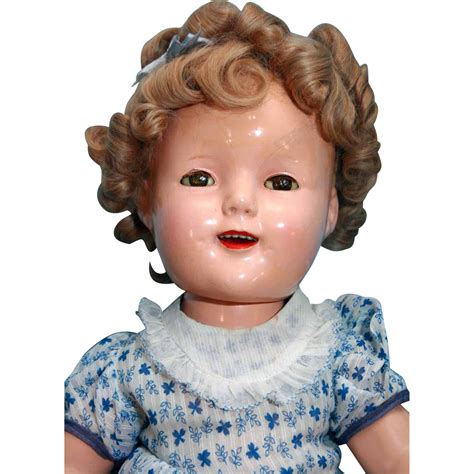 composition ideal doll shirley temple composition doll by ideal 18 quot markings of