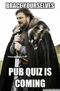 Quiz Meme - pub quiz