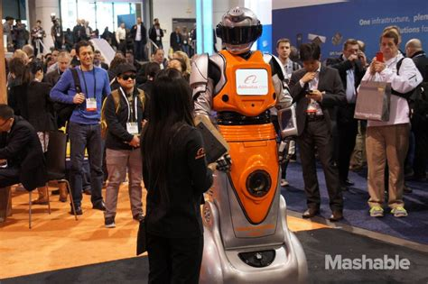 alibaba robot ces is just a disguise for companies to be really weird