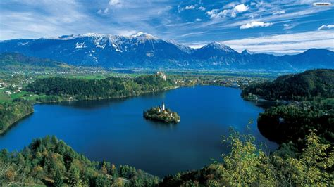 slovenia lake lake bled slovenia youtube